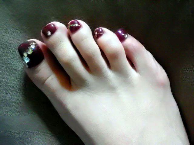 京子さんの足