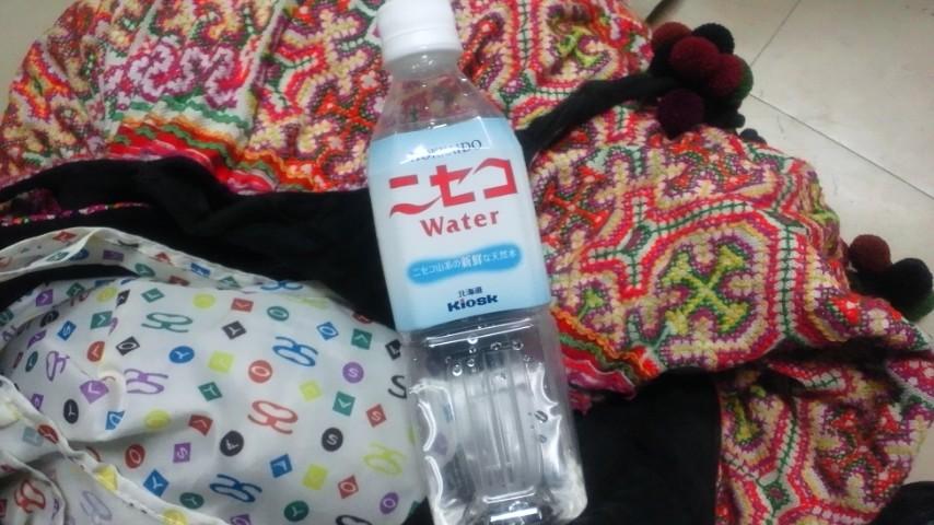今日のお水